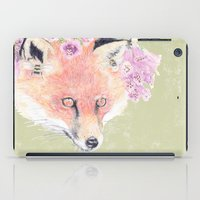 Fox & Foxgloves  iPad Case