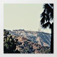 Hollywood  Canvas Print