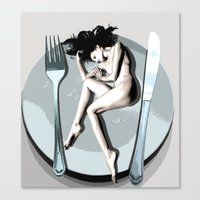 Cutlery Canvas Print