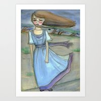 The Calm Before The Stor… Art Print