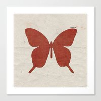 Red B Canvas Print