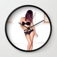 His Last Chance... Wall Clock