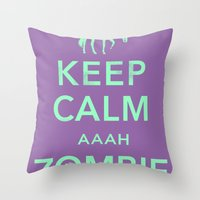 This just happened. Throw Pillow