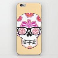 Sugar Skull #bonethug iPhone & iPod Skin