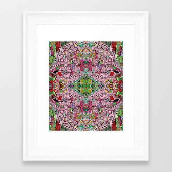 Is (version 3) Framed Art Print