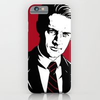 iPhone & iPod Case featuring Agent Dale Cooper, FBI by Shawn Dubin
