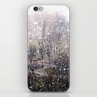 Snow in early fall(1)  iPhone & iPod Skin