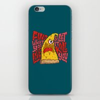Find What You Love And L… iPhone & iPod Skin
