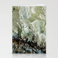chrysocolla & calcite 2 Stationery Cards