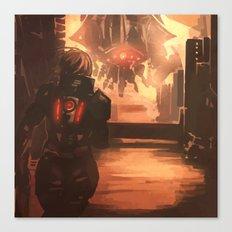 Reaper Scout Canvas Print