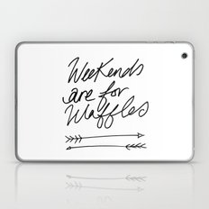 Weekends Are For Waffles Laptop & iPad Skin