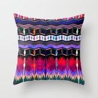 Mexicali #6 Throw Pillow