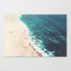 Beach Nazare Canvas Print
