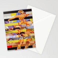 Glitch Pin-Up: Courtney Stationery Cards