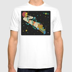 Creation. Mens Fitted Tee SMALL White