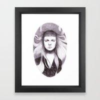 Sandy Denny Framed Art Print