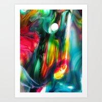æther Art Print