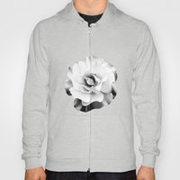 Black And White Rose Blo… Hoody