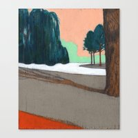 Oosterpark Canvas Print