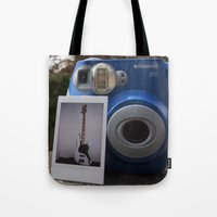 First Ever Polaroid Tote Bag