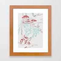 Lava II Framed Art Print
