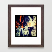 Skags on parade v2.0 Framed Art Print