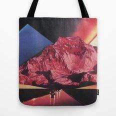Neon Highway Tote Bag