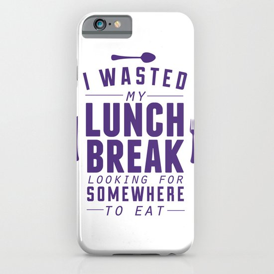 Lunch iPhone & iPod Case