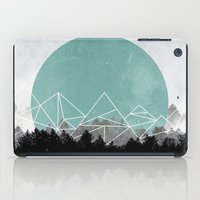 Woods Abstract 2 iPad Case