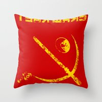 Tsar Wars Throw Pillow