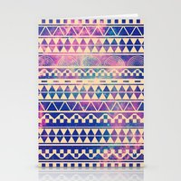 geometric Stationery Cards featuring Substitution by Mason Denaro