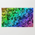 Starrider -- Abstract cubist color expansion Rug