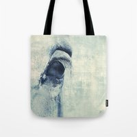Graphic Eye Horse Tote Bag