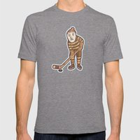 Hockey Yeti Mens Fitted Tee Tri-Grey SMALL