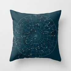 Space Hangout Throw Pillow