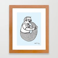 On The Rare And Condemne… Framed Art Print
