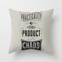 Practicality Throw Pillow