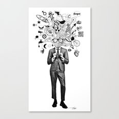ANALOGUE THOUGHT IN THE … Canvas Print