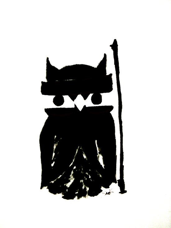 The Last Ninja Art Print