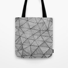 Angular Stripes Tote Bag
