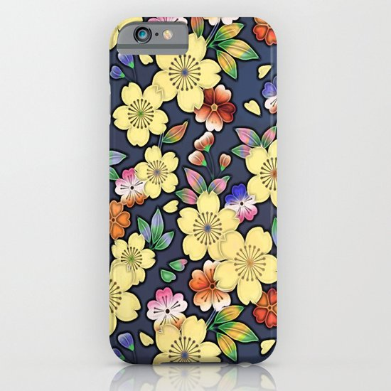 Blossom Yellow iPhone & iPod Case