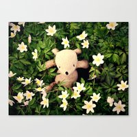 Yeah, Spring flowers Canvas Print