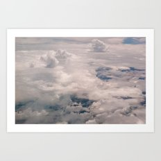 View of the sky Art Print