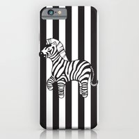 zebra stripe iPhone 6 Slim Case