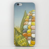 Have A Corny Time iPhone & iPod Skin