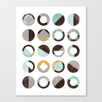 POINTS OF CONTACT Canvas Print