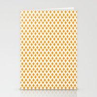 Bazaar 1 Orange Stationery Cards
