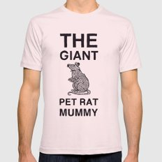 The Giant Pet Rat Mummy Mens Fitted Tee Light Pink SMALL
