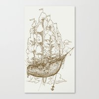 Voyage Home Canvas Print