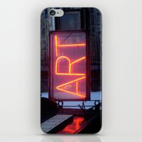Neon Art iPhone & iPod Skin